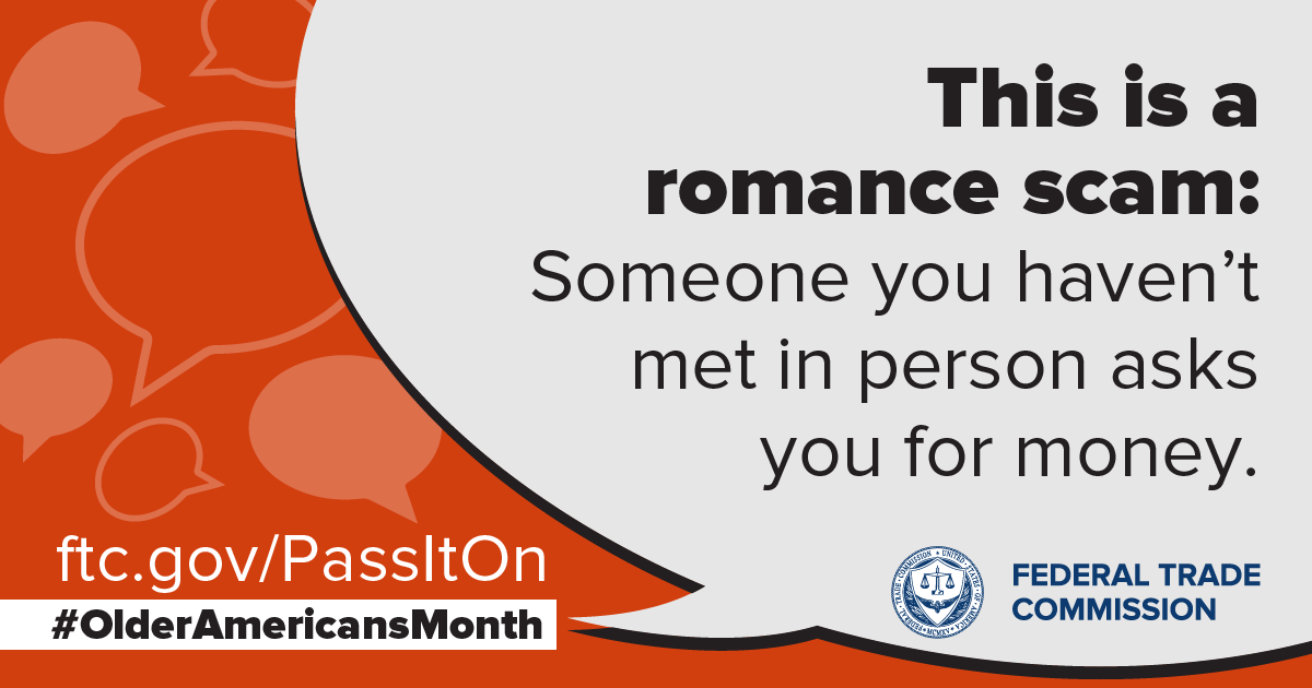 This is a romance scam:  Someone you haven't met in person asks for money.  ftc.gov/PassItOn